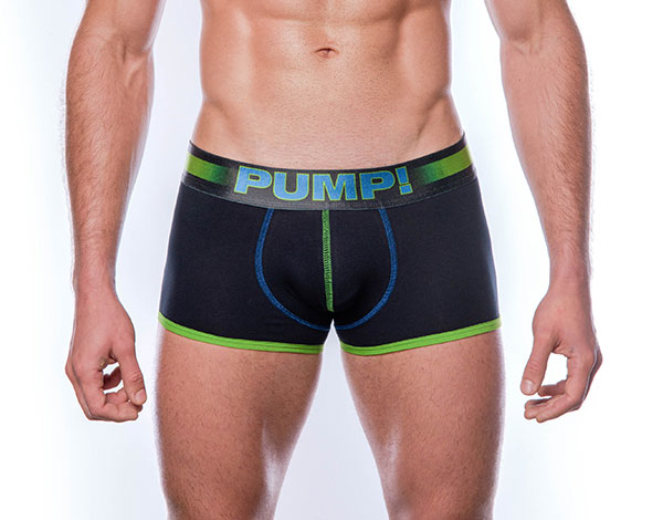 pump boxer green