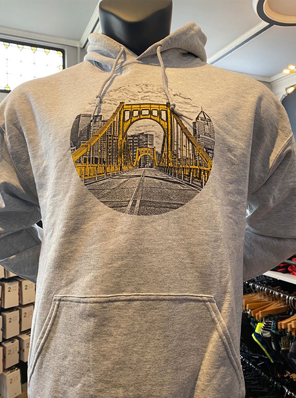 Golden Bridge Sweatshirt Hoodie