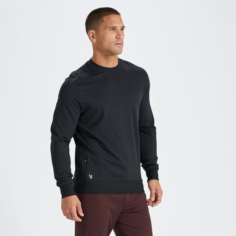 vuori ponto crew shirt (black)
